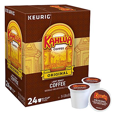 Kahlua® Single-Serve Coffee K-Cup®, Arabica, Carton Of 24