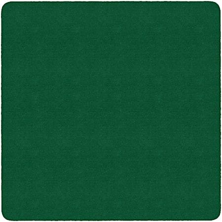 Flagship Carpets Americolors Rug, Square, 6' x 6', Clover Green