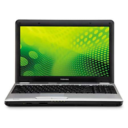 "Toshiba Satellite® L505D-LS5007 15.6"" Widescreen Notebook Computer With AMD Athlon™ II Dual-Core Processor M300"