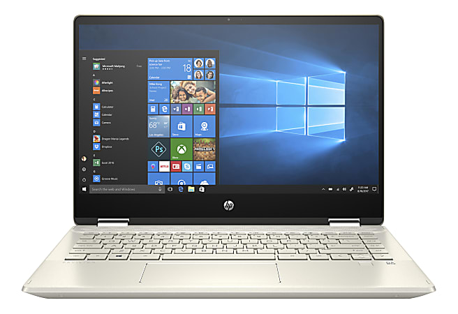 "HP Pavilion x360 14-dh2027od Convertible Laptop, 14"" Touch Screen, Intel® Core™ i7, 16GB Memory, 512GB Solid State Drive, Windows® 10, 1A921UA#ABA"