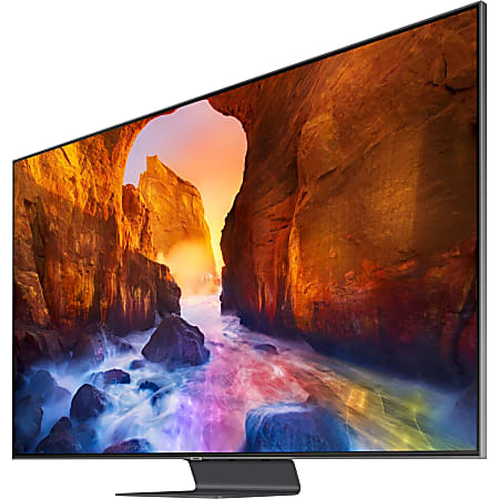"""Samsung Q90R QN82Q90RAF 81.5"""" Smart LED-LCD TV - 4K UHDTV - Carbon Silver - Direct Full Array 16x Backlight - Bixby, Google Assistant, Alexa Supported - 3840 x 2160 Resolution"""