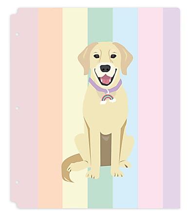 """Office Depot® Brand Fashion 2-Pocket Poly Folder, 8-1/2"""" x 11"""", Riley"""