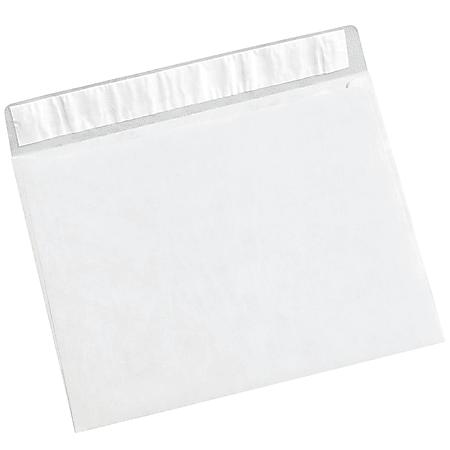 """Office Depot® Brand Tyvek® Flat Envelopes, 10"""" x 13"""", White, Case Of 100"""