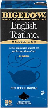 Bigelow® English Tea Time Bags, Box Of 28