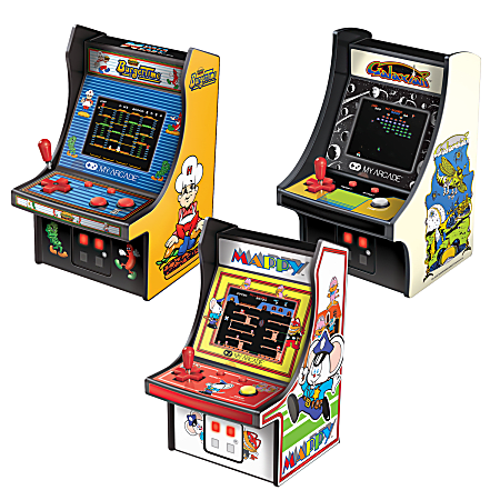 dreamGEAR Micro Arcade Collector's Pack