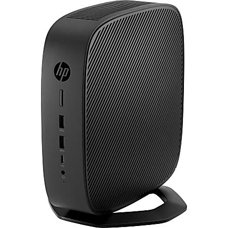 HP t740 Thin ClientAMD Ryzen V1756B (4 Core) 3.25 GHz - TAA Compliant - 8 GB RAM DDR4 SDRAM - 32 GB Flash - AMD Radeon Vega 8 Graphics  - HP Smart Zero -Port - Network (RJ-45) - 7 Total USB Port(s) - 2 USB 2.0 Port(s) - USB Type-C - 90 W