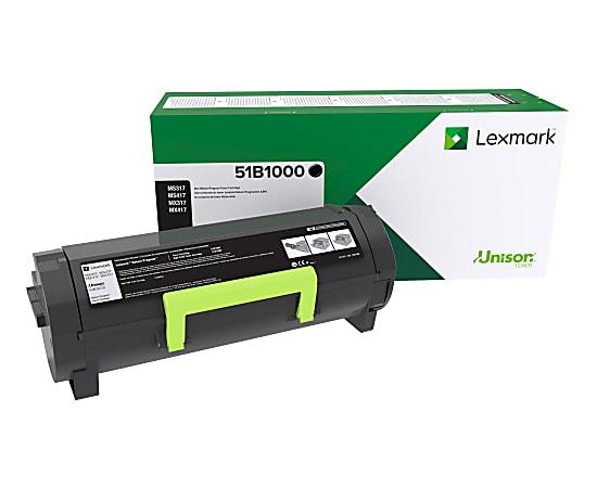 Lexmark™ 51B1000 Return Program Black Toner Cartridge