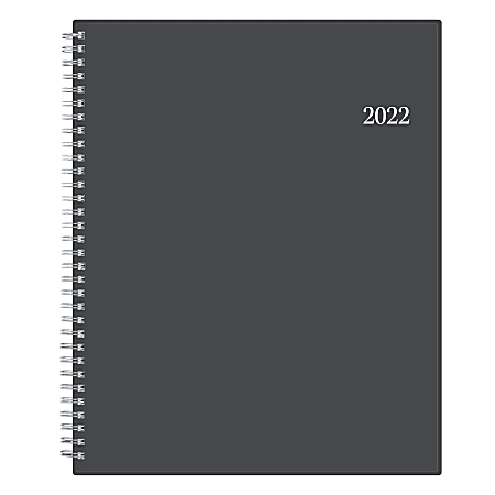 """Blue Sky™ Weekly/Monthly Planner, 8-1/2"""" x 11"""", Passages, January To December 2022, 100008"""