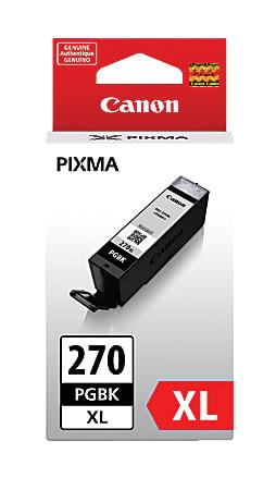 Canon PGI-270XL High-Yield Black Ink Tank (0319C001)