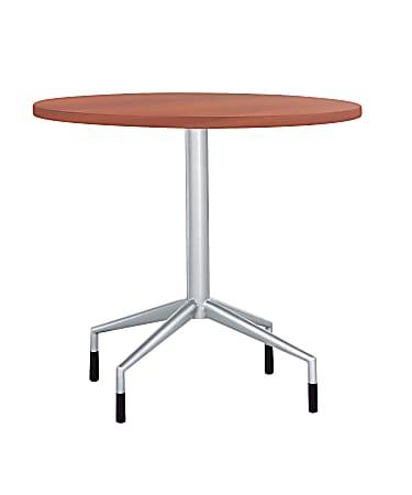 Safco® RSVP Round Tabletop, Cherry