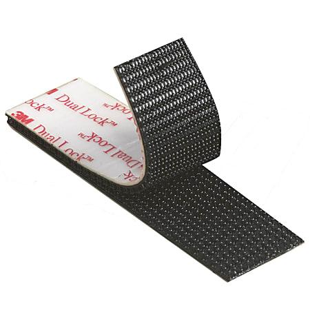 "3M™ Dual Lock™ Reclosable Fastener Tape, SJ3552, 1"" x 150', Black, Pack Of 2"