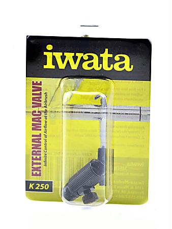 "Iwata External Mac Valve, 1 1/8"", Black"