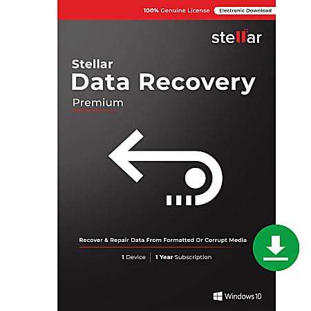 Stellar Data Recovery Software Windows®, Premium