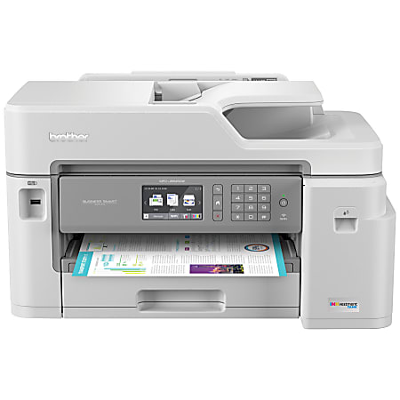 Brother® INKvestment Tank MFC-J5845DW Wireless Color Inkjet All-In-One Printer