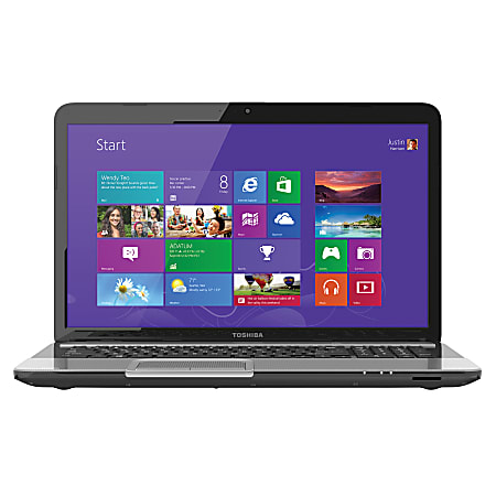 """Toshiba Satellite® L875D-S7332 Laptop Computer With 17.3"""" Screen & Next Gen AMD A6 Accelerated Processor"""