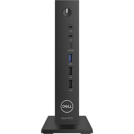 Wyse Thin Client - Intel Celeron J4105 Quad-core 4 Core 1.50 GHz - 4 GB RAM - 32 GB Flash - Gigabit Ethernet - Windows 10 IoT Enterprise 2019 LTSC English - Network RJ-45 - 8 Total USB Ports - 2 USB 2.0 Ports - USB Type-C