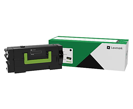 Lexmark™ 58D1H00 High-Yield Return Program Black Toner Cartridge