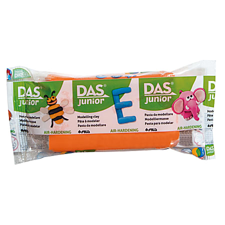 Das Junior Air-Drying Modeling Clay, 3.5 Oz, Orange