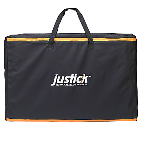 """Smead® Justick Carry Bag For Tabletop Expo Display, 36"""" x 27"""", Black"""