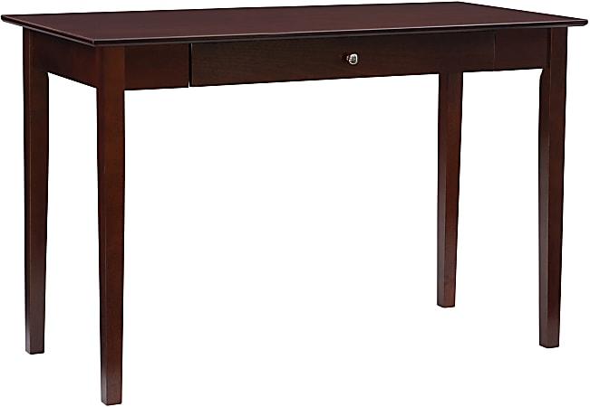 "Linon Harvick 48""W Desk, Walnut"