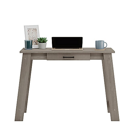 """Sauder® Beginnings 44""""W Writing Table, Silver Sycamore"""