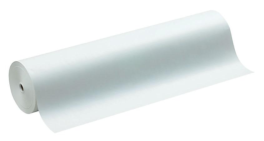"Pacon® Kraft Wrapping Paper, 40 Lb., 36"" x 1,000', White"