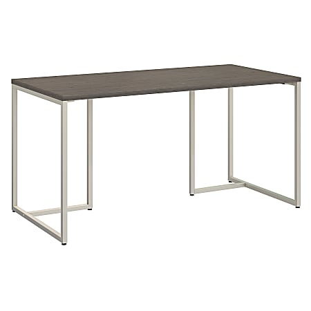 """kathy ireland® Office by Bush Business Furniture Method Table Desk, 60""""W, Cocoa, Standard Delivery"""