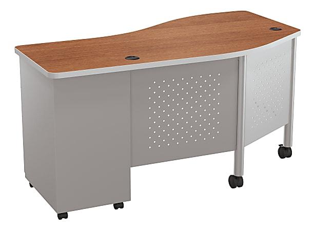 Balt Instructor Teacher's Desk II Desk, Cherry/Platinum