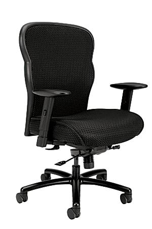HON® Wave™ Ergonomic Mesh High-Back Big And Tall Executive Chair, Black