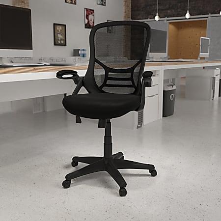 Flash Furniture Ergonomic Mesh High-Back Office Chair, Black