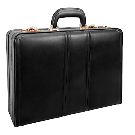 McKleinUSA COUGHLIN Expandable Attache Case, Black