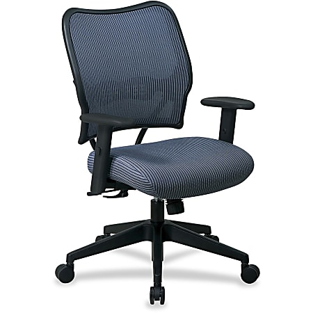 Office Star™ Deluxe Task Chair With VeraFlex™ Seat And Back, Blue Mist/Black