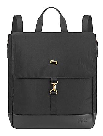 "Solo® Austin Hybrid Tote/Backpack With 13.3"" Laptop Pocket, Black"