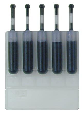 Xstamper Preinked Stamps Ink Cartridge Refills - 5 / Pack - Black Ink - 0.17 fl oz