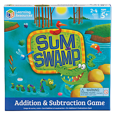 Learning Resources Sum Swap Addition/Subtraction Game - Educational - 2 to 4 Players - 1 Each