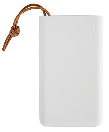 Ativa® Ultra-Slim Powerbank, 5,000 mAh, White, EP-U508A-COLOR1