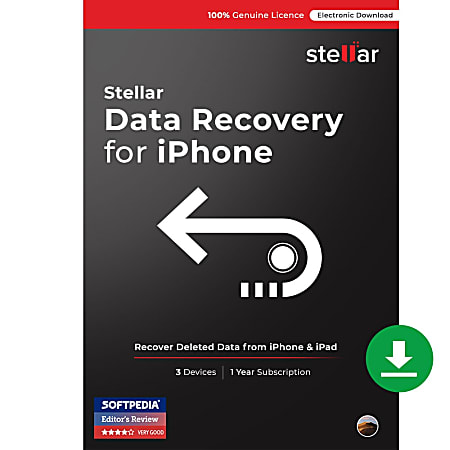 Stellar Data Recovery For, iPhone Mac®
