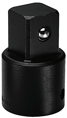 Impact Adapters, 1/2 in (female square); 3/4 in (male square) drive, 2 in