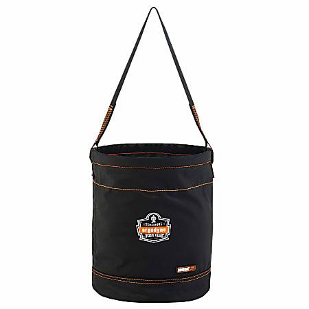 """Ergodyne Arsenal 5975 Nylon Hoist Bucket, 15"""" x 12-1/2"""", Black"""