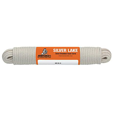 Silverlake™ Sash Cord, 500 lb Capacity, 100 ft, Cotton, White