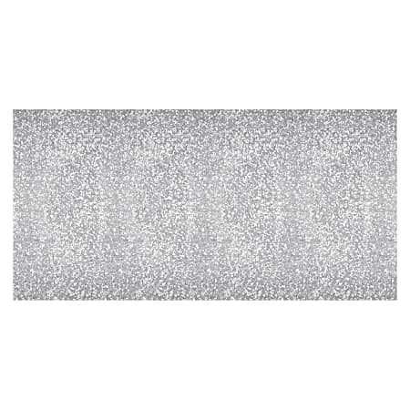 """Fadeless Galvanized Design Paper Roll - Classroom, Display, Table Skirting, Decoration - 2"""" x 48""""50 ft - Galvanized - 1 Roll - Metallic Gray - Paper"""
