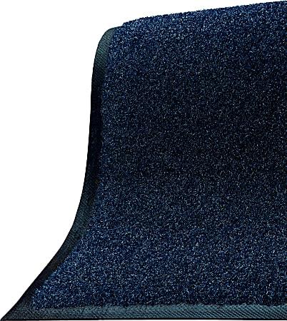 "M+A Matting Brush Hog Floor Mat, 36"" x 48"", Navy Brush"