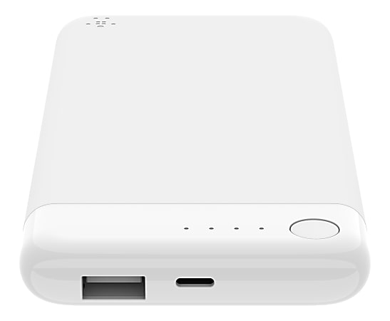 Belkin® BOOST CHARGE™ Power Bank 5K With Lightning Connector, F7U045btWHT