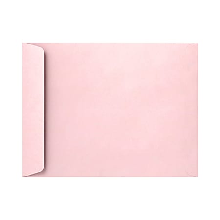 "LUX Open-End Envelopes With Peel & Press Closure, 6"" x 9"", Candy Pink, Pack Of 1,000"