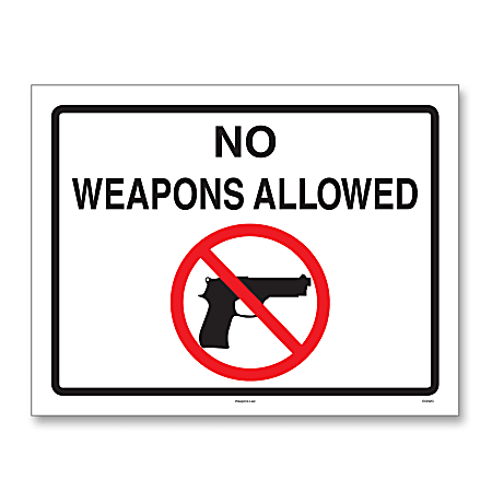 "ComplyRight™ State Weapons Law 1-Year Poster Service, English, Kentucky, 8 1/2"" x 11"""