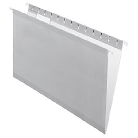 Pendaflex® Premium Reinforced Color Hanging File Folders, Legal Size, Gray, Pack Of 25 Folders