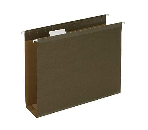 """Pendaflex® Premium Reinforced Extra-Capacity Hanging Folders, 3"""" Expansion, Letter Size, Green, Pack Of 25"""