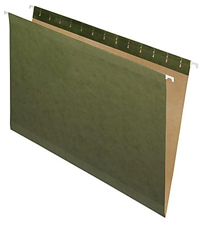 Pendaflex® Premium Reinforced Hanging File Folders, Legal Size, Standard Green, Pack Of 25 Folders