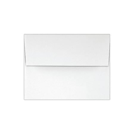 LUX Invitation Envelopes, A2, Peel & Press Closure, White, Pack Of 1,000