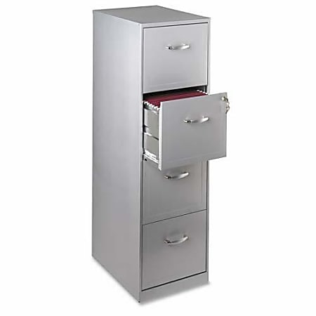Realspace 18 D Vertical 4 Drawer File, Filing Cabinets For Home